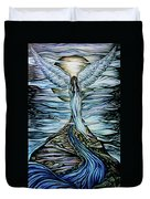 Moon Angel Duvet Cover
