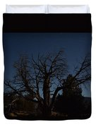 Moon Brings Life To An Old Tree Duvet Cover