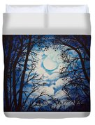 Moon Clouds Duvet Cover