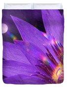 Moon Flower Duvet Cover