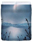 Moon Fog Duvet Cover
