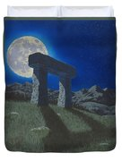 Moon Gate Duvet Cover
