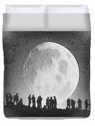 Moon - Id 16236-105000-9534 Duvet Cover