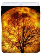 Moon - Id 16236-105015-0839 Duvet Cover