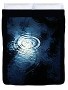 Moon In The Water Duvet Cover