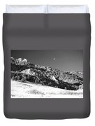 Moon Over Chatauqua 2 Duvet Cover