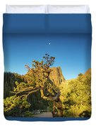 Moon Over Dreams Duvet Cover