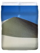 214804-moon Over Dune  Duvet Cover