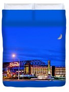 Moon Over Sands Duvet Cover