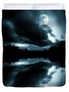 Moon Rising Duvet Cover by Aaron Berg