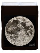 Moon Surface By John Russell Duvet Cover