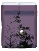 Moon Trees Duvet Cover