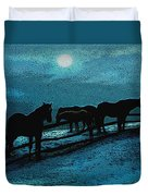 Moonbeam Duvet Cover