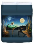 Moondance Duvet Cover