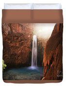Mooney Falls Grand Canyon 1 Duvet Cover