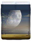 Moonfall Duvet Cover