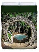 Moongate - Bermuda Duvet Cover