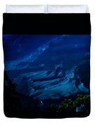 Moonlight At Grand Canyon Duvet Cover