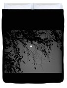 Moonlight - B And W Duvet Cover