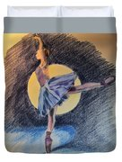 Moonlight Ballerina Duvet Cover