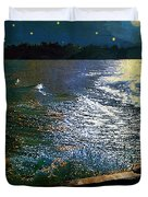 Moonlight On The Mississippi Duvet Cover
