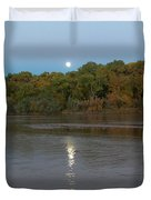 Moonlight On The Rio Grande Duvet Cover
