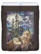 Moonlight Rendezvous Duvet Cover