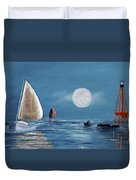 Moonlight Sailnata 4 Duvet Cover