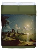 Moonlight Scene Duvet Cover by Sebastian Pether