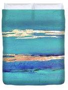 Moonlight Sea Duvet Cover