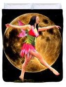 Moonlight Stroll Of A Fairy Duvet Cover