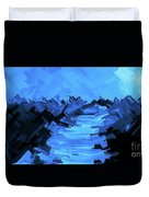 Moonlight Trek Duvet Cover