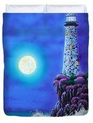 Moonlight Vigil Duvet Cover