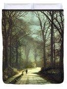 Moonlight Walk Duvet Cover