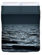 Moonlight Waves Duvet Cover