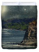 Moonlit Cove Duvet Cover