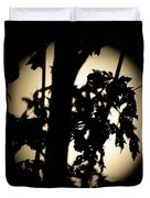 Moonlit Leaves No 1 Duvet Cover