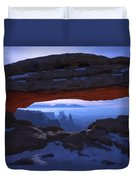 Moonlit Mesa Duvet Cover