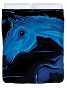 Moonlit Run Duvet Cover