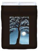 Moonlit Tree Duvet Cover