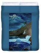 Moonlit Wave Duvet Cover