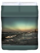 Moons Glow  Duvet Cover by Kim Loftis