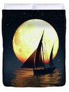 Moonsailor Duvet Cover