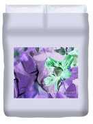 Moonwalk Clematis Duvet Cover