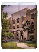Moore County Courthouse Duvet Cover