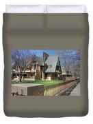 Moore-dugal House Duvet Cover