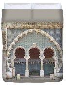 Moorish Fountain Of Sintra Duvet Cover