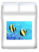 Moorish Idol Fish  #50 Duvet Cover