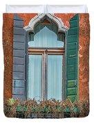 Moorish Window And Texture Venice_dsc5350_03052017 Duvet Cover
