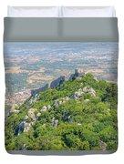 Moors Castle Aerial Duvet Cover